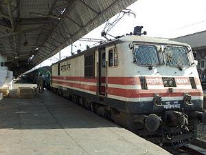 Indian locomotive class WAP-5 - Image: Ghaziabad WAP 5