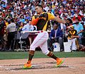 Giancarlo Stanton competes in semis of '16 T-Mobile -HRDerby. (28574678135).jpg