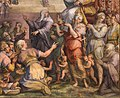 Giorgio vasari, gregorio xi torna a roma da avignone, 1572-73, 08.jpg
