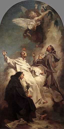 Giovanni Battista Piazzetta - Three Dominican Saints - WGA17421