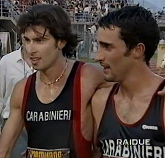 Giovanni De Benedictis - Giovanni De Benedictis (left) with his temmate Michele Didoni in 1995