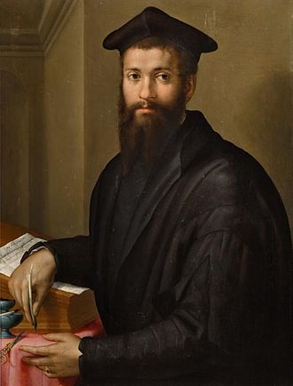 Giovanni Salviati - Portrait, oil on canvas, of Giovanni Salviati (1490–1553) by Pier Francesco Foschi (1502–1567)