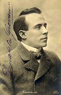 Giovanni Zenatello Italian tenor