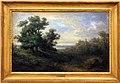 Giovanni carnovali detto il piccio, paesaggio dai grandi alberi, 1855 circa.jpg