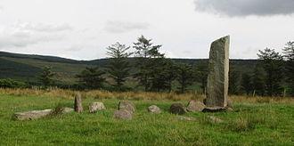 Glantane East - Standing stone at Glantane