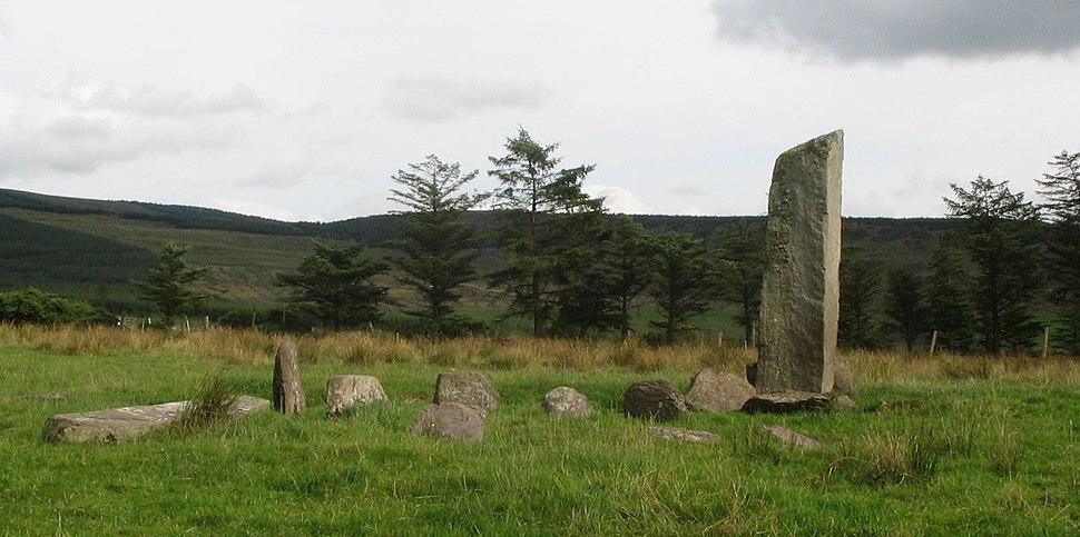 Glantane Stone Circle