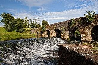 Glanworth - Glanworth Bridge over the River Funshion