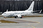 Global Jet Austria, M-YBBJ, Boeing 737-7HE BBJ (39457667021).jpg