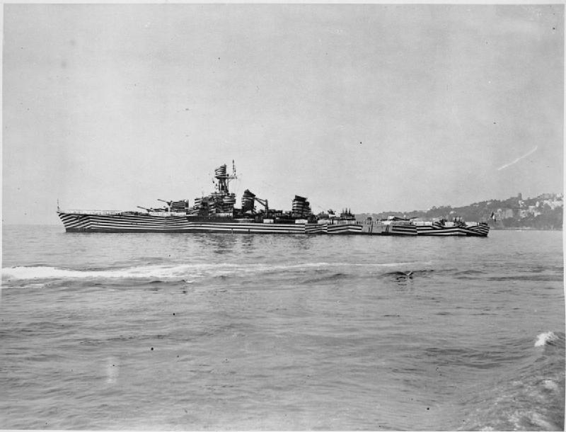 Gloire at Naples 1944 IWM A 24997