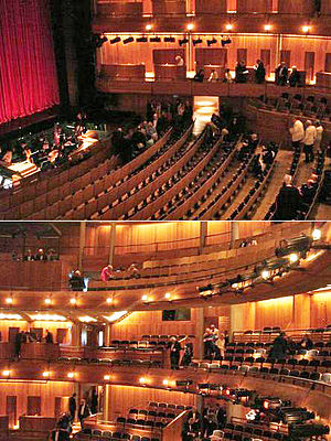 Glyndebourne - Interior of the present Glyndebourne Opera House, 2008