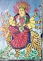 Godess Durga painting.JPG