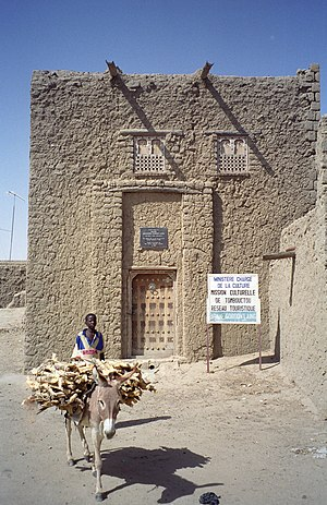 Alexander Gordon Laing - Gordon Laing's House in Timbuktu.