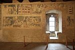 Gothic frescos in Siedlęcin Ducal Tower 2014 P02.JPG