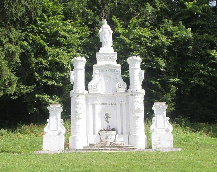 Oratoire à Goux-les-Usiers (Doubs).