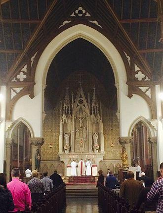 Grace Church (Newark) - 10:30am High Mass at Grace Church in Newark.