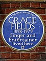Gracie Fields 1898-1979 Singer and Entertainer lived here.jpg