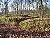 foto van Terrein waarin drie grafheuvels (nrs. 1 t/m 3)
