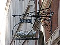 Grasshopper sign (1563), Lombard Street, EC3 - geograph.org.uk - 1112068.jpg