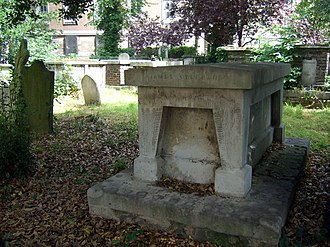 James Stephen (British politician) - Grave of James Stephen, Stoke Newington