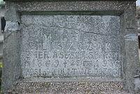 Grave of Michał Hliszczak at Central Cemetery in Sanok (Matejki part) 2.jpg