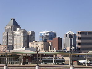 Skyline von Greensboro