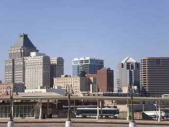 Greensboro, North Carolina - Greensboro skyline