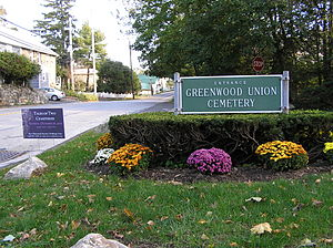 Greenwood Union Cemetery (Rye, New York) - Main entrance
