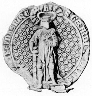 Gerhard III, Count of Holstein-Rendsburg - Seal of Count Gerhard III