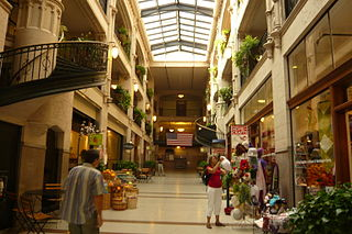 Cool off in The Grove Arcade Asheville, NC