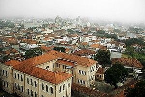 Guaratinguetá - Image: Guaratingueta vista aerea