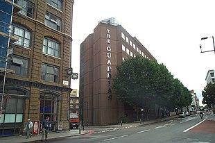 La sede del Guardian a Londra