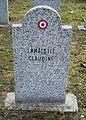 GuentherZ 2013-01-12 0281 Wien11 Zentralfriedhof Gruppe88 Soldatenfriedhof franzoesisch WK2 Lamaletie Claudine.JPG
