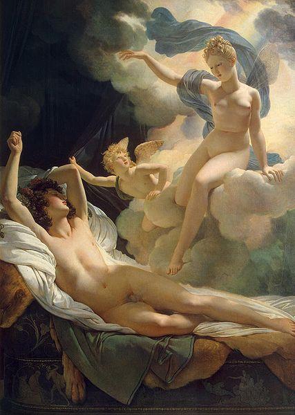 Pierre-Narcisse Guérin, Morfeusz i Iris, 1811 (Ermitaż, St. Petersburg)