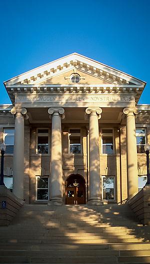 Greeley, Colorado - Guggenheim Hall, University of Northern Colorado.