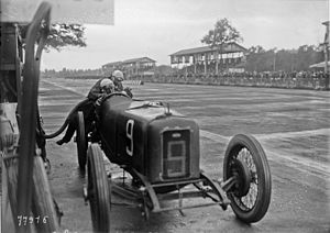 Guido Meregalli - Meregalli at the 1922 Italian Grand Prix