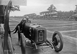 Guido Meregalli - Meregalli at the 1922 Italian Grand Prix