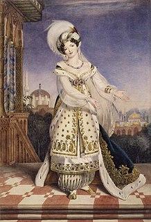 Giuseppina Ronzi de Begnis Italian opera singer