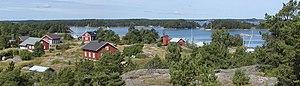 Archipelago National Park - Gullkrona, a village in Nagu, within the national park