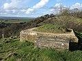 Gun emplacement on Crimson Hill - geograph.org.uk - 354102.jpg