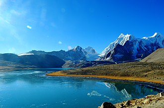 Himalayas - Gurudongmar Lake in Sikkim