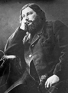 Gustave Courbet (fotografie pořízená Felixem Nadarem)