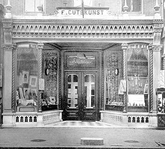 Frederick Gutekunst - exterior, 712 Arch St. Philadelphia PA