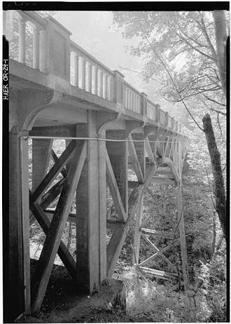 Latourell Falls - Image: HAER HCRH OR 24 1