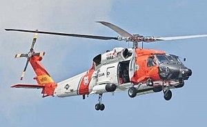 Sikorsky MH-60 Jayhawk - A HH-60J Jayhawk from CG Air Station Astoria.