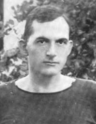 Harry Varner - Varner pictured in Corks and Curls 1916, Virginia yearbook
