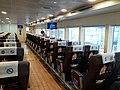 HK MC 澳門 Macau 金光飛航 Cotai Jet Pier 澳門氹仔客運碼頭 Taipa Island pier boat interior November 2019 SS2 02.jpg