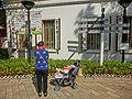 HK Park 香港茶具文物館 Museum of Tea ware Dr SK Lo Gallery Sunny Sunday baby cart Dec-2013.JPG