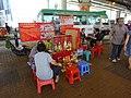 HK Wan Chai 堅拿道 Canal Road West Da Siu Yan 打小人 Villain hitting n plastic seats Oct-2015 DSC visitors.JPG