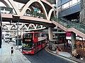 HK tram 64 view CWB 銅鑼灣 Causeway Bay 怡和街 Yee Wo Street ring shape footbridge November 2019 SS2 02.jpg