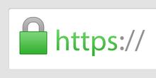 Icona del lucchetto, che nei browser contraddistingue l'uso di HTTPS.